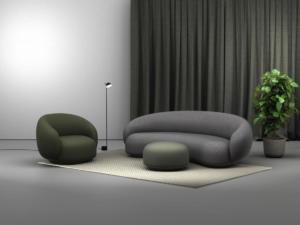 fotelja,tabure,dvosjed JULEP