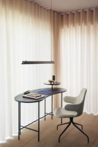 pisaći stol Palette Desk,stolac Catch.lampa Fornell